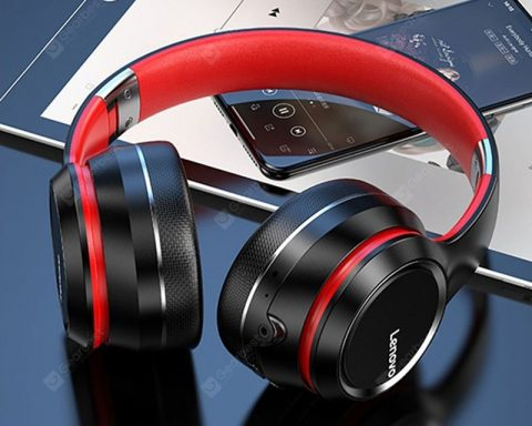 """Lenovo HD200 Bluetooth Headphone Wireless Bluetooth Headphones Stable Transmission Noise Reduction"" 181"