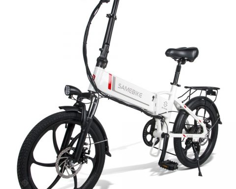 """Samebike 20LVXD30 Smart Folding Electric Moped Bike E-bike 350W 35km Per Hour"" 4"