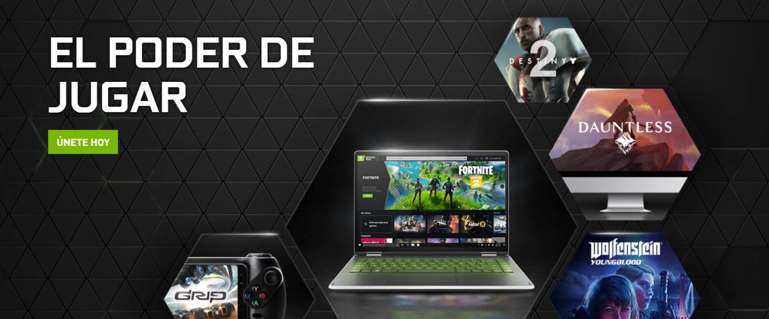 Las alternativas a Stadia - el rival es Geforce Now 4