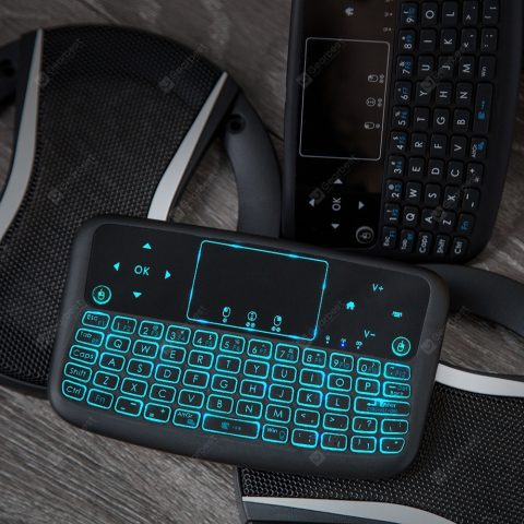 """""""Alfawise A9 New Touch 2.4GHz Wireless Keyboard Flying Mouse"""" 26"""