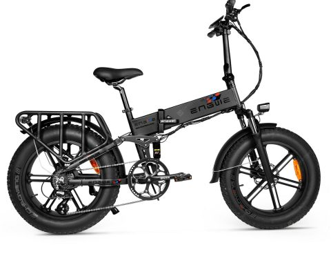 """ENGWE ENGINE PRO 750W Folding Fat Tire Electric Bike with 12.8Ah Battery and Hydraulic Suspension"" 11"