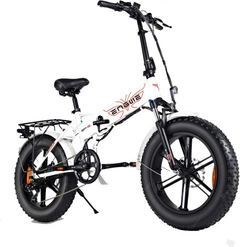 """""""ENGWE EP-2 PRO 750W Folding Fat Tire Electric Bike with 48V 12.8Ah Lithium-ion Battery"""" 10"""