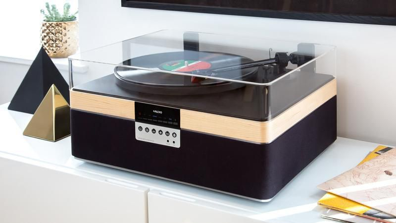 Tocadiscos 'vintage' The+Record Player 3