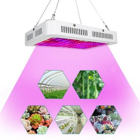 """Utorch GR0015 Grow Light 1000W Plant Growth Light Full Spectrum Green Plant Solver Plant Growth Light AC 85-265V"" 30"
