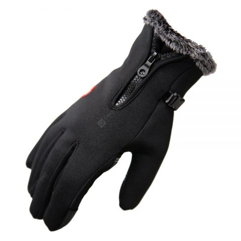 """Winter Gloves Riding Waterproof Plus Velvet Thick Warm Gloves Hiking Outdoor Sports Ski Gloves Cold Thickening"" 2"
