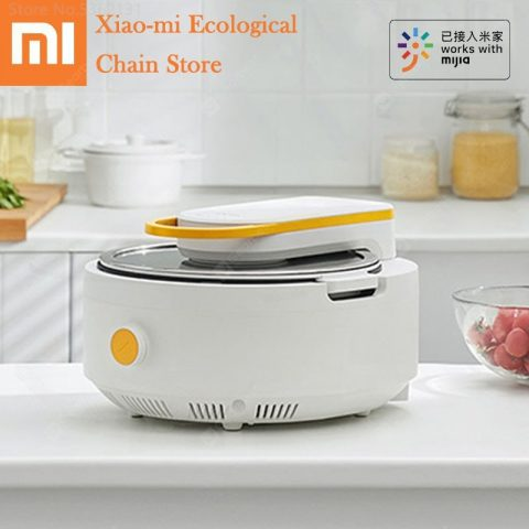 """""""Youpin Solista Electric Intelligent Automatic Stir Frying Machine Work With Mijia APP Non-stick Cooking Wok Pot Multi Cooker Pot"""" 11"""