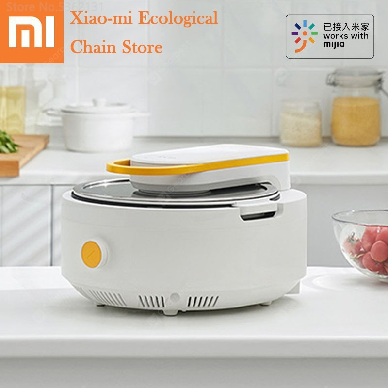 """Youpin Solista Electric Intelligent Automatic Stir Frying Machine Work With Mijia APP Non-stick Cooking Wok Pot Multi Cooker Pot"" 136"